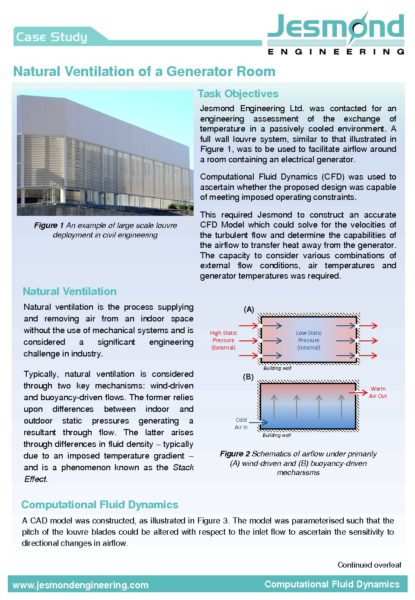 Natural Ventilation Case Study