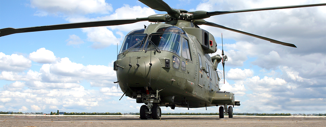 UK based engineering contractors worked with helicopter experience